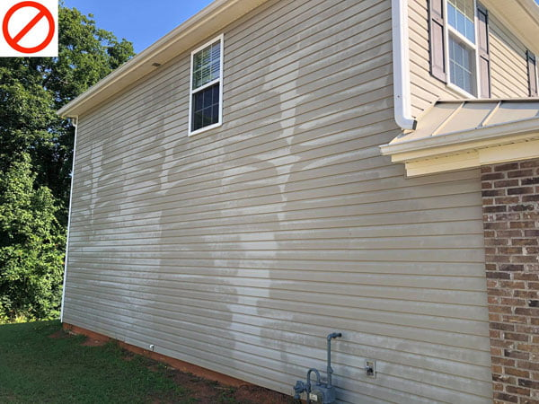 Why You Shouldn't Pressure Wash Your House
